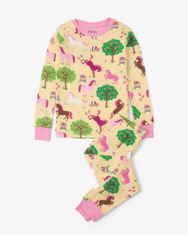 Pony Orchard Organic Cotton Pajama Set