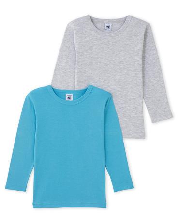 Pack of 2 boy's long-sleeved tees