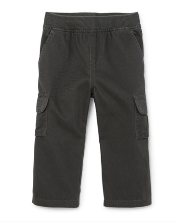 Toddler Boys Pull-On Cargo Pants