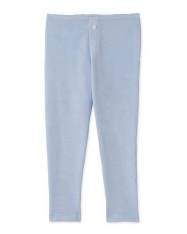 Boy's long johns in wool and cotton