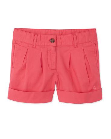 Girls' twill shorts