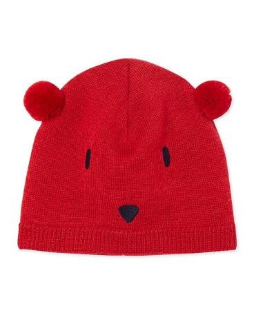 Baby's unisex cap in a wool blend