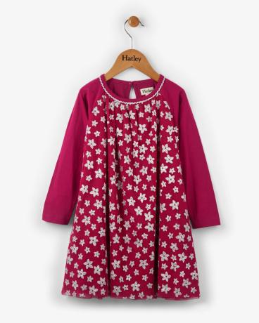 Sparkly Starflowers Tulle Dress