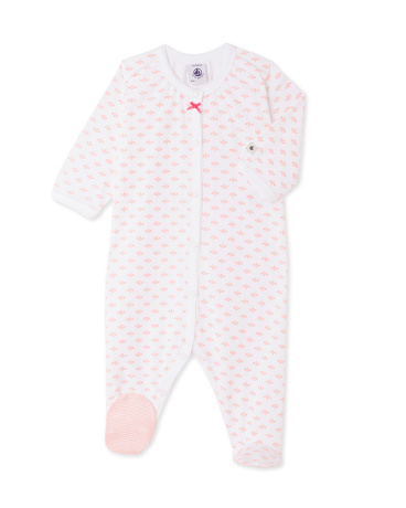 Baby girls' print sleepsuit