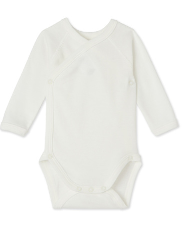 Newborn babies' long-sleeved bodysuit
