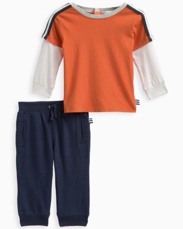Baby Boy 2For Top with Pant Set
