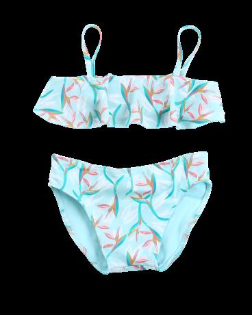 Girls Ruffle Top Bikini