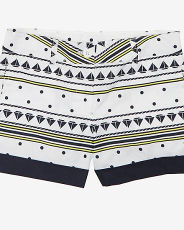 Little Girls' Sailboat Stripe Short (2T-7)