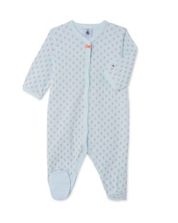 Baby girls' print sleepsuit