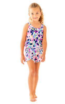 Girls Bala Romper