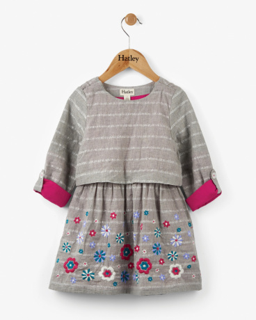 Shimmering Daisies Layer Dress