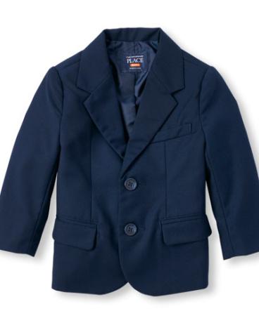 Toddler Boys Long Sleeve Blazer