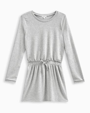 Girl Lurex Sweater Knit Dress