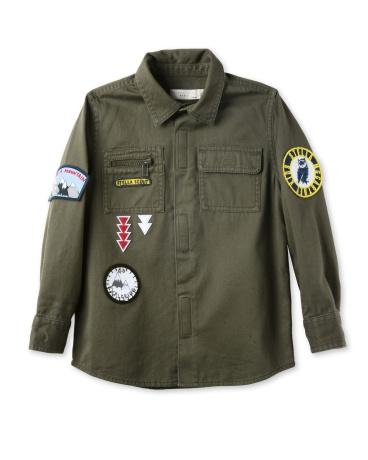 Khaki Badges Shirt