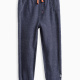 Little Boy Novelty Brushed French Terry/Mesh Jogger