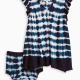 Baby Girl Tie Dye Crinkle Jersey Dress