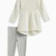Baby Girl Lurex Sweater Set