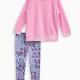 Little Girl Whipstitch Pullover and Legging Set