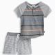 Baby Boy Stripe Tee and Short