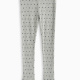 Girl Dotted Thermal Legging