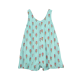 Girls Aqua Popsicle Print Romper