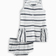 Baby Girl Mesh Stripe Dress
