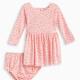 Baby Girl Star Print Dress