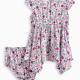 Baby Girl Allover Print Dress