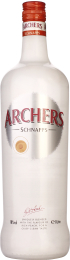 Archers Peach Schnapps 1ltr