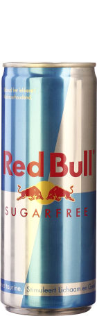 Red Bull Sugar Free blik 24x25c