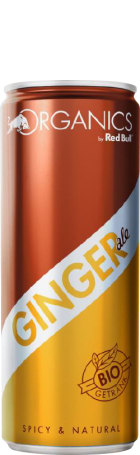 Red Bull Organics Ginger Ale 12x25c