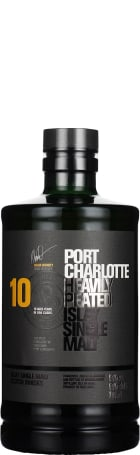 Port Charlotte 10 years Heavily Peated 70cl