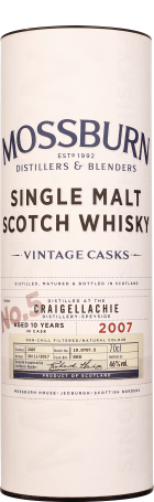 Mossburn No.5 Craigellachie 10 years Single Malt 70cl