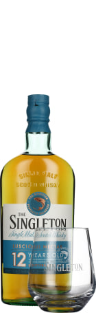 Singleton of Dufftown 12 years Giftset 70cl