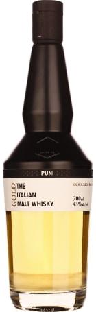 Puni Gold 5 years Italian Single Malt 70cl