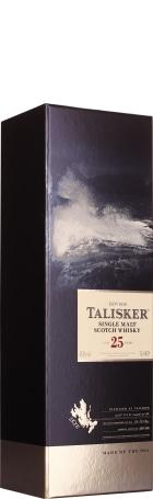 Talisker 25 years Single Malt 2018 70cl