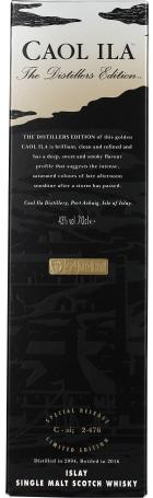 Caol Ila Distillers Edition 2004-2016 70cl
