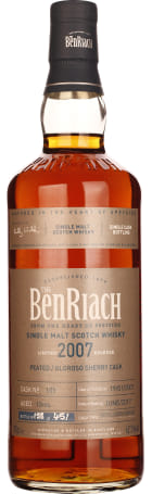 Benriach 10 years 2007 Oloroso Sherry Cask 70cl