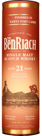 Benriach 21 years Tawny Port Finish 70cl