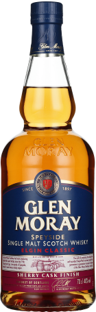 Glen Moray Sherry Cask Finish Elgin Classic 70cl
