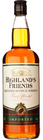 Highlands Friends Whisky 1ltr