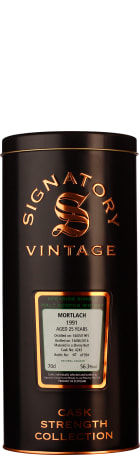 Signatory Mortlach 25 years 1991 Cask Strength 70cl