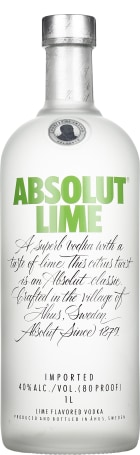 Absolut Lime 1ltr