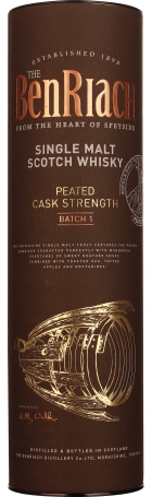 Benriach Peated Cask Strength Batch 1 70cl