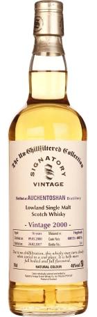 Signatory Auchentoshan 17 years 2000 Un-Chillfiltered 70cl