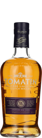 Tomatin 15 years Single Malt American Oak 70cl