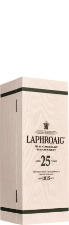 Laphroaig 25 years Single Malt 2018 Release 70cl