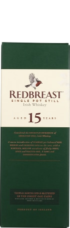 Redbreast 15 years Pot Still 70cl