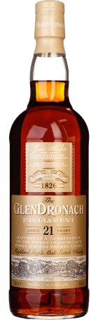 Glendronach 21 years Parliament Original Bottled 2017 70cl