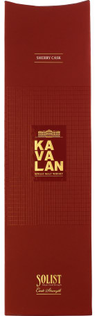 Kavalan Solist Sherry Cask Strength Cask:S100209026A 70cl